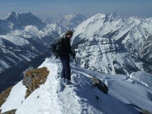 Skitouren Annett Hofman